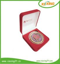 2012 antique souvenir custom engraved silver coin