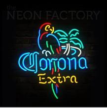 extremely bright led corona BEER led neon sign with acrylic backplate, #Shanghai Liyu-12V-CoroSign