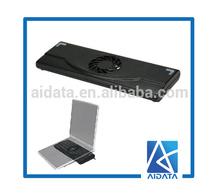Portable USB Cooling Fan Adjustable Laptop Height Adjuster