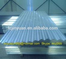 ASTM JIS EN AS G550 Hot Dipped Galvalume / Zincalume / Aluzinc Coated Steel Corrugated Matel Roofing Sheets / Panels/Shingle