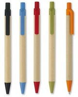 China Wholesale Recycled Paper Tube Ball Pen
