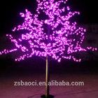 Pure white christmas decorative tree led light/ nature look festival decorative LED cherry tree