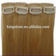 high quality 30 inch cheap 100% virgin human clip in hair extensions