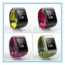 New design 1.44 inch color tft display bluetooth sport digit usb hand watch