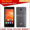 new arrival 4.7 inch screen XiaoMi Red Rice 1.5Ghz quad core-CPU 1G ram 4G rom android