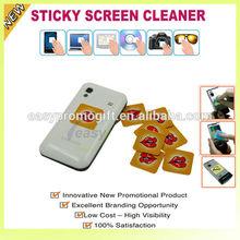 Mobile phone screen cleaner/wiper