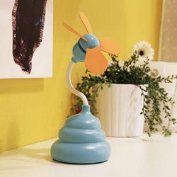 Gift Shops Wholesale Novelty Portable Mini Usb Fan / Mini Poo Fan Wholesale
