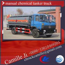 8.5 cbm chemical vaccum truck ,8500 litres manual chemical tanker truck, liquid nitrogen truck for sale