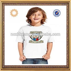 2014 Water Printing T-shirt For Children Tshirt Design Korea Children t-shirt