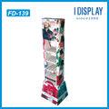 hermoso esmalte de uñas opi estante de exhibición de publicidad