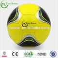 el logotipo de impresión de la mano cosido de balones de fútbol