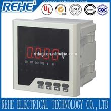 ac dc voltimetro digital de panel mounting voltmeter dc auto voltmeter rh-av31