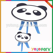 Panda Animal Shape Kids Study Furniture Set,mini computer for kids