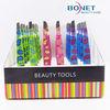 BTZ0059S 2014 Tweezers Set In Display Box Colorful Tweezers