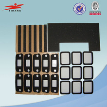 Factory produce adhesive die cut tape with shape and size custom