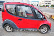 Mini electric car with solar panel