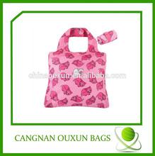 hottest nylon foldable polyester shopping bag, foldable tote bag, foldable promotion bags