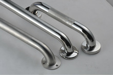 Polished grab bars ,knurled, satin grab rails ,peened,stainless steel ,ADA