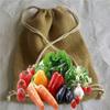 jute wine packaging bag/jute shoping bag/jute drawstring burlap bags