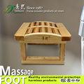 Massage meubles, Main tabouret, Massage des pieds en bois rouleau