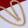 Lekani Hotsale men's big gold necklace designs 2014