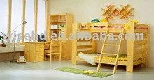(W-BB-53) solid wood kids bedroom furniture