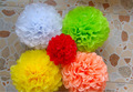 hanging tissue honeycomb Paper flowers for home decoration
