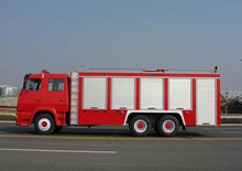 6x4 foam fire fighting trucks