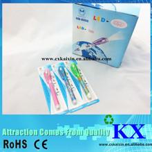 UV light pen/ballpoint pen with UV light/invisible ink pen