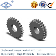 32A-3 triplex DIN 8187 ISO/R 606 pitch 50.8 27T stainless steel sprockets