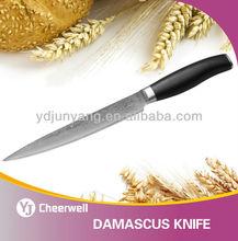 Damascus steel knife vg10