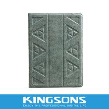 Totem design PU tablet case, sculpture tablet case