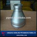 Concéntricos de acero al carbono reductor de acuerdo de extremo a extremo ASME B16.9