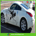 body side sticker design pvc vinyl for car protection