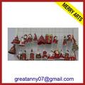 china 2014 tela de navidad santa muñecas muñeca de navidad