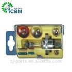 Auto Lamp H4 Kit 12V60/55W Clear Halogen Bulbs Kit