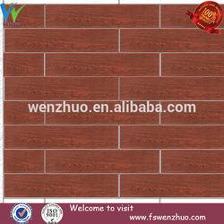 tan wood tile for bedroom floor/ European style wooden floor tile