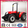 Famous brand YTO tractor China 70hp 80hp farming tractor/small orchard tractor