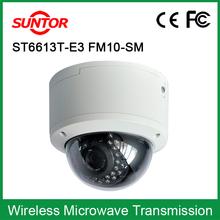 H.264 compression format 1.3MP HD digital infrared dome ip camera