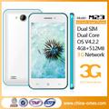 4.5 pouces. wcdma. meilleur gsm chinois gros dual sim téléphone portable