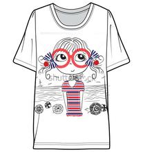 Fashion printed men's t shirts for men custom wholesale t shirt aeropostale