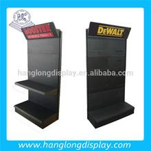 metal fixtures retail floor display stands racks HL002