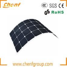High Efficiency Semi Flexible Solar Panel 10w to 150w