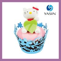 Spring Flower Paper Cupcake Wrapper