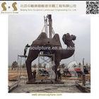 bronze camel sculpture,cast brass camel sculpture