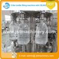botella del animal doméstico 5000ml aqua agua de lavado de llenado y taponado de la máquina