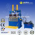 Aupu y82-100lt venda direta da fábrica prensa hidráulica pressador para sucata de pneu de carro de certificação do ce