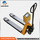 Hydraulic pallet truck scale for sale