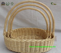High Quality Large Woven Wicker Basket from Factory
