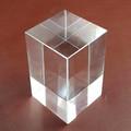 2014 venta caliente blanco cristal cubo mágico para 3D láser